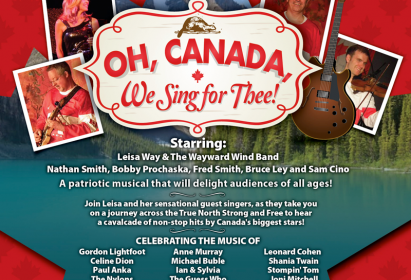 Oh, Canada, We Sing for Thee!