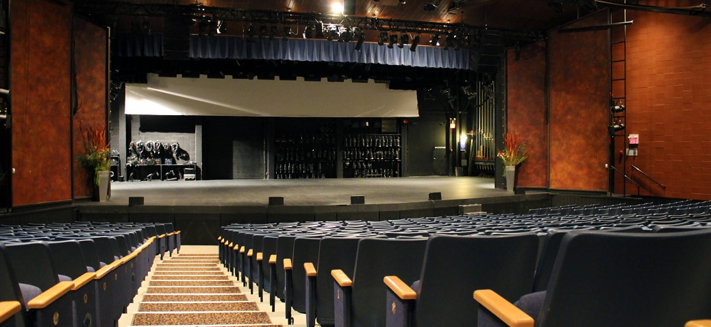 Kelowna Community Theatre Auditorium