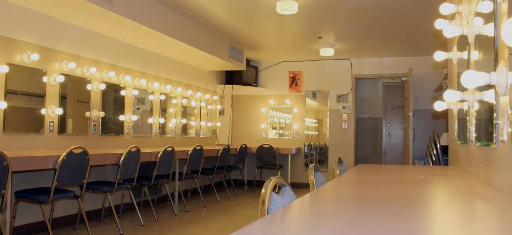 Kelowna Community Theatre: Dressing Room