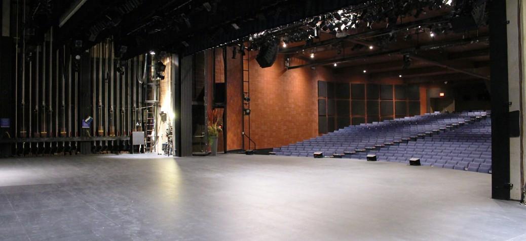 Kelowna Community Theatre: Stage