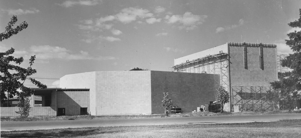 KCT Under Construction 1962 - Photo Credit - Kelowna Public Archives:KPA#3461