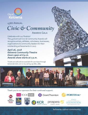 Civic Awards 2018