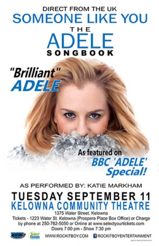 Someone Like You: The Adele Songbook by Katie Markham