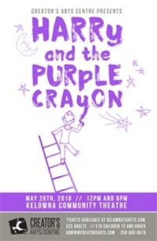 Harry and the Purple Crayon - Creator's Art Centre