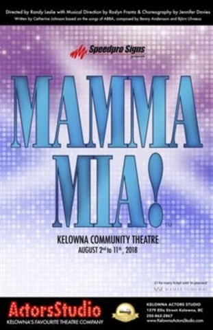 Mamma Mia! at the Kelowna Community Theatre