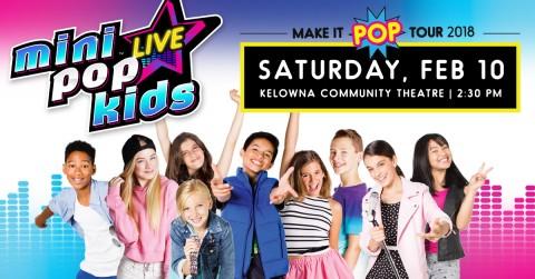 Mini Pop Kids Live!