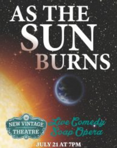New Vintage As the Sun Burns in the Black Box Theatre