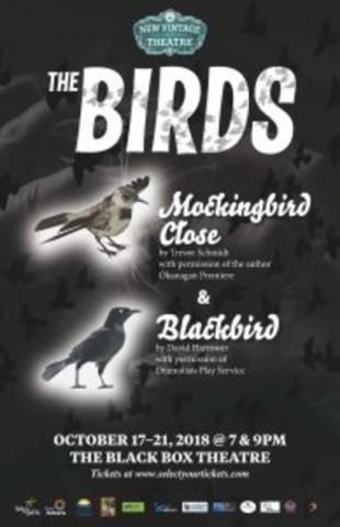New Vintage Theatre: Blackbird & Mockingbird Close in the Black Box