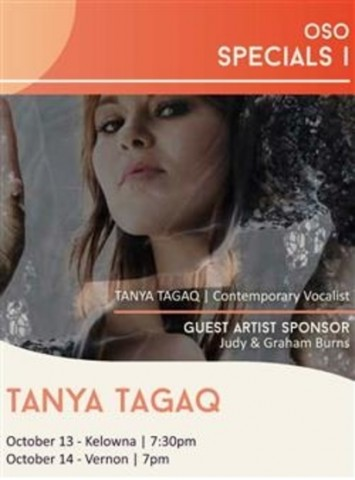 OSO Special I Tanya Tagaq at the Kelowna Community Theatre