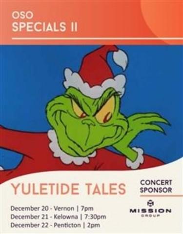 Okanagan Symphony Orchestra Yuletide Tales
