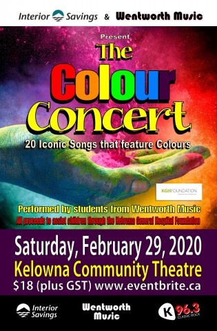 The Colour Concert Poster