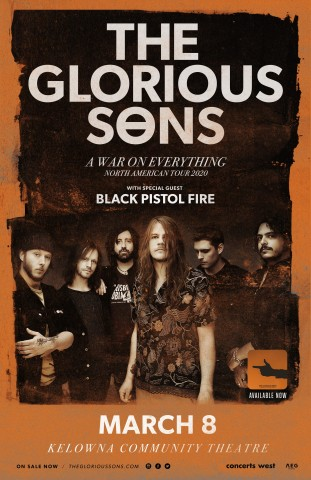 The glorious sons poster