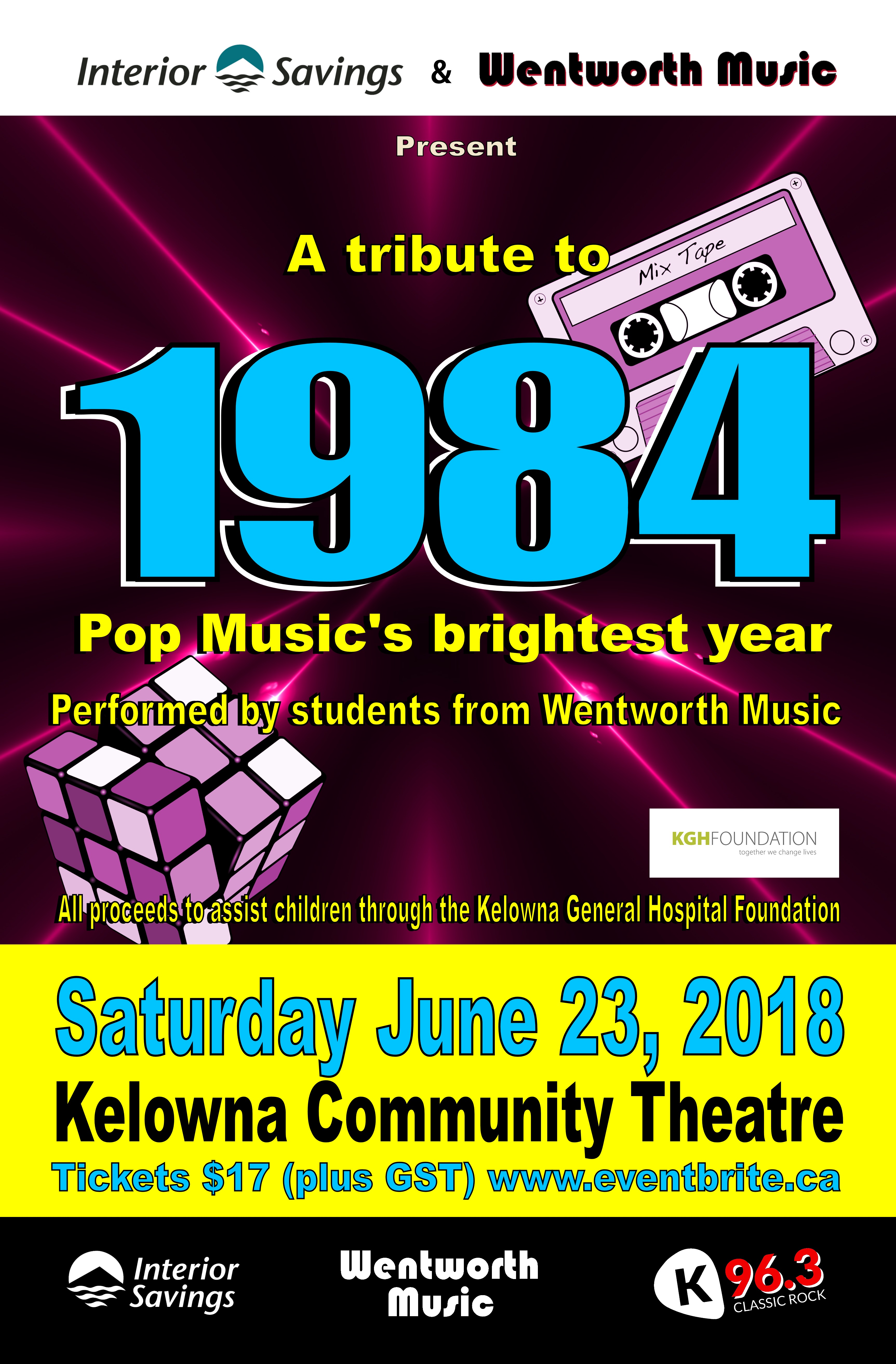 Wentworth Music: A Tribute to 1984 - Pop Music's Brightest ...